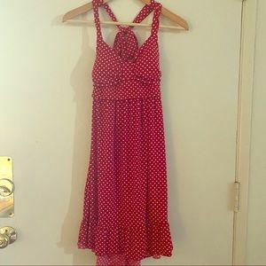 Charlotte Russe Red Polka Dot Dress